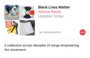 Black Lives Matter Playlist Apple Music